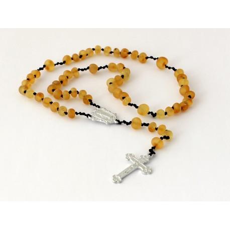 Amber rosary JR42