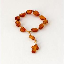 Amber rosary JR43