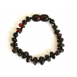 Amber teething bracelet 31PB