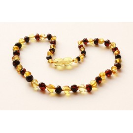 Baroque Amber Teething Necklace B146