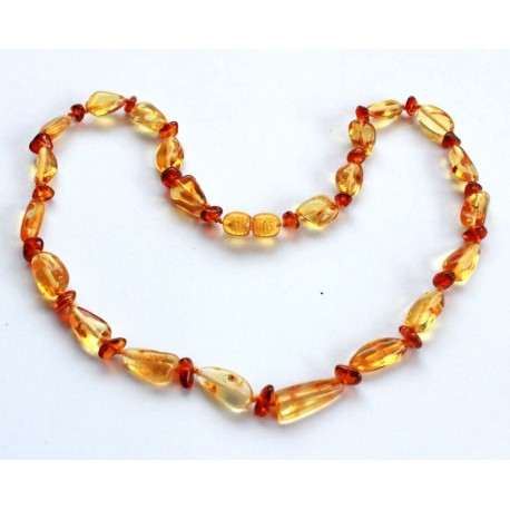 Amber necklaces 5 items